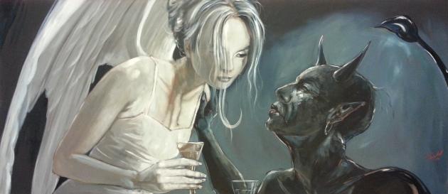 Engel und Teufel (white&black)